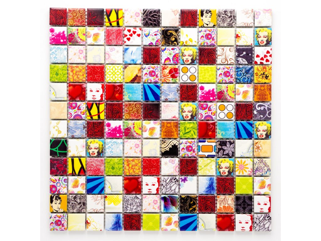 MC23 013 keramická mozaika 23X23mm
