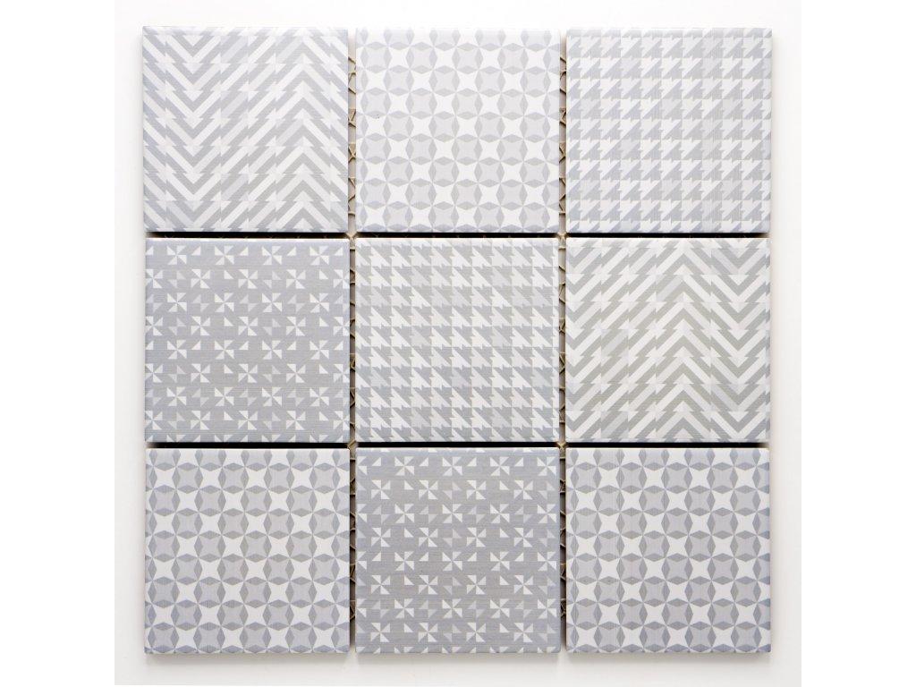 MCS 022 keramická mozaika 97x97mm