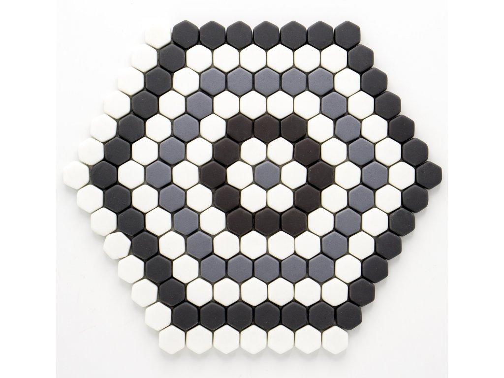 MGC 031 skleněná mozaika 15x17mm