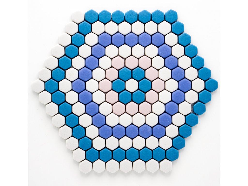 MGC 032 skleněná mozaika 15x17mm