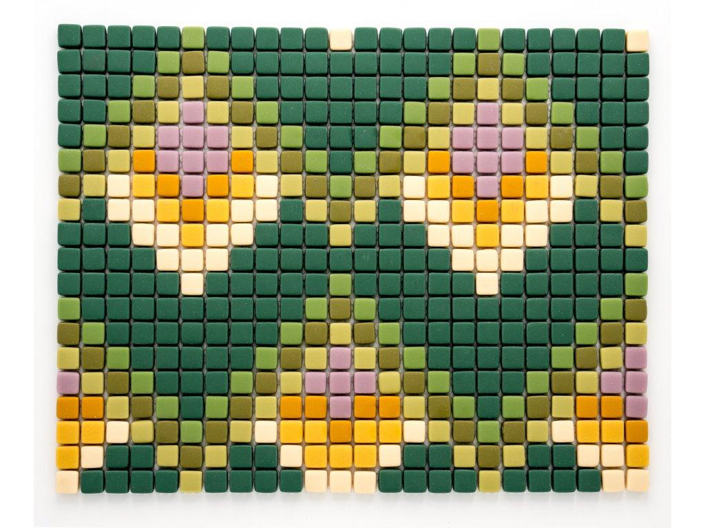 MGC 033 skleněná mozaika 12x12mm