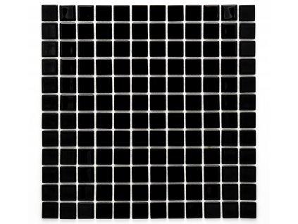 MGC 002 skleněná mozaika černá 23x23mm