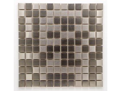 MM 004 nerezová mozaika 23x23mm