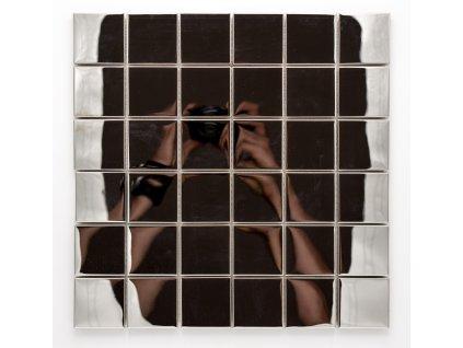 MM 005 nerezová mozaika 48x48mm