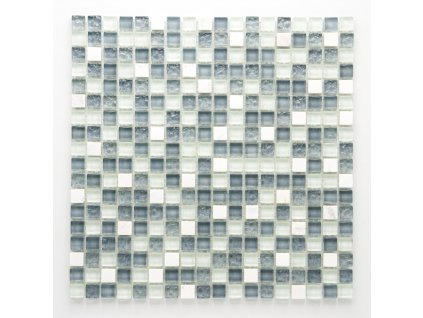 MMIX 021 mozaika, sklo, kámen 15x15mm