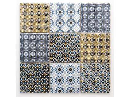 MCS 023 keramická mozaika 97x97mm