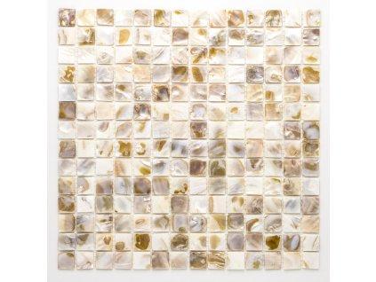 MSH 002 mozaika perleťová střední 20x20mm