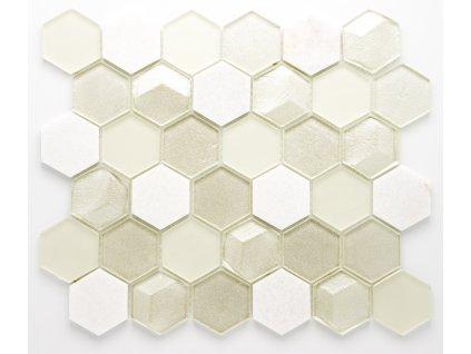 MMIX 022 mozaika, sklo, kámen 55x55mm