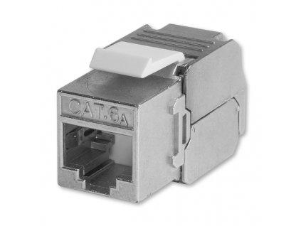 Přístroj zásuvky datové stíněné Modular Jack RJ 45-8 Cat. 6AS