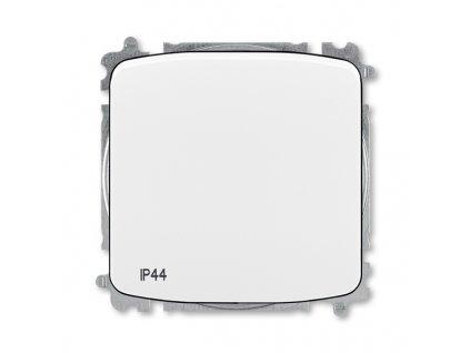 Přepínač křížový, s krytem, řazení 7, IP44, bezšroubové svorky