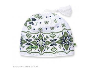 Pletená čepice Kama A05