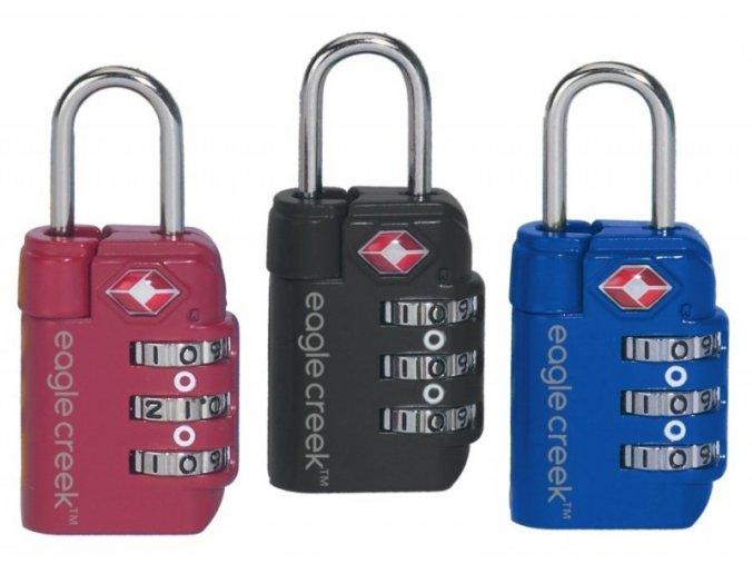 Eagle Creek zámek Travel Safe TSA Lock