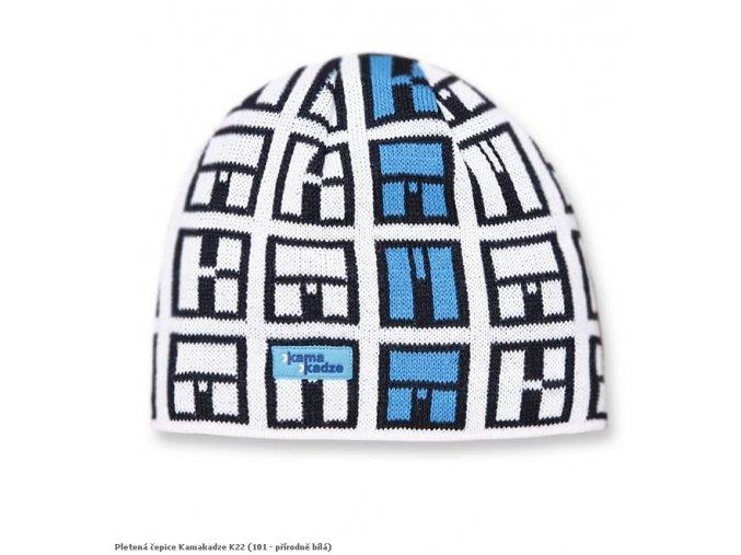 Pletená čepice Kamakadze K22