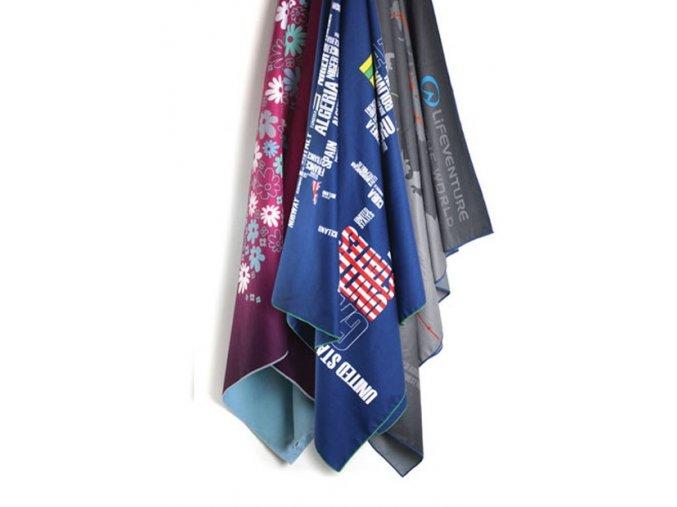 Lifeventure Printed SoftFibre Trek Towels