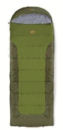 spací pytel BLIZZARD WIDE barva: khaki, délka: výška postavy do 190cm, zapínání: pravý