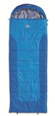 spací pytel BLIZZARD WIDE barva: blue, délka: výška postavy do 190cm, zapínání: pravý