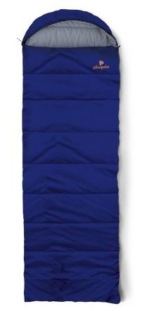 spací pytel SAFARI barva: blue, délka: výška postavy do 190cm, zapínání: pravý