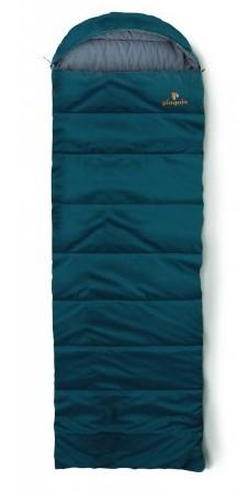 spací pytel SAFARI barva: petrol, délka: výška postavy do 190cm, zapínání: pravý