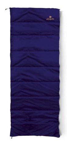 spací pytel TRAVEL barva: blue, délka: výška postavy do 190cm, zapínání: pravý