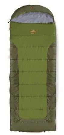 spací pytel BLIZZARD barva: khaki, zip: pravý