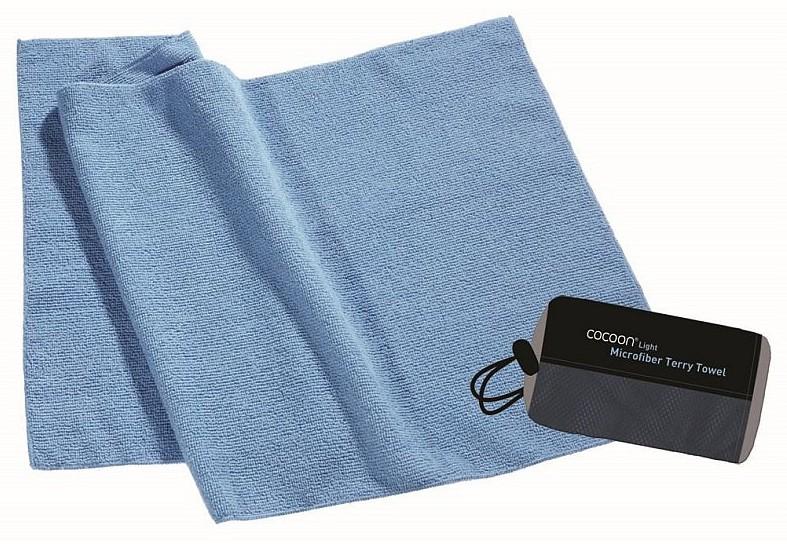 Cocoon lehký cestovní ručník barva: fjord blue, Velikost: S (60x30)