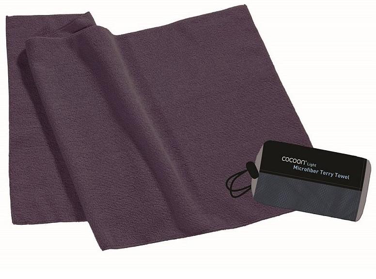 Cocoon lehký cestovní ručník barva: dolphin grey, Velikost: S (60x30)
