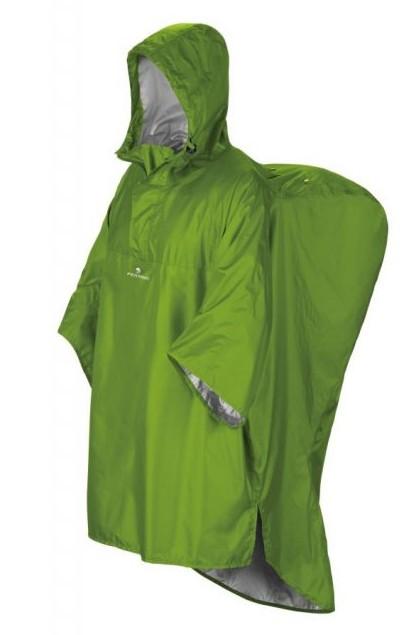 pončo HIKER barva: Zelená, Velikost: L/XL