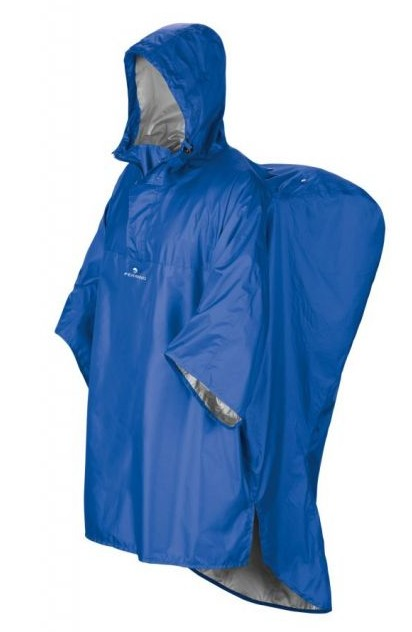 pončo HIKER barva: Modrá, Velikost: L/XL