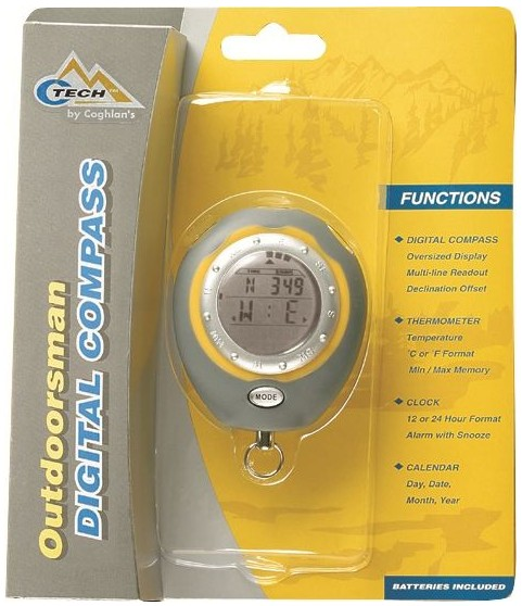 Coghlan´s digitální kompas 0490