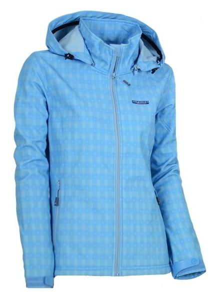 Softshellová bunda dámská ENVY KINTLA IV. barva: Modrá, Velikost: 38