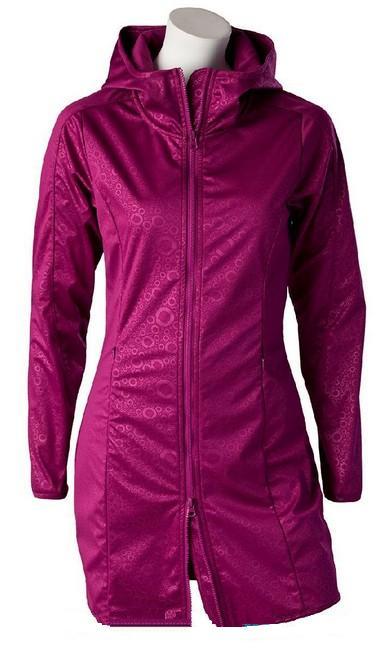 Kabát O'STYLE boysenberry barva: Boysenberry, Velikost: 44