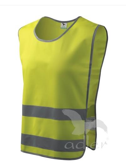 BEZPEČNOSTNÍ VESTA CLASSIC SAFETY VEST barva: reflexní žlutá, Velikost: XXL