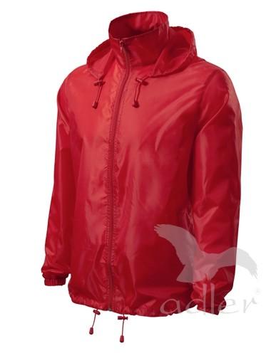 UNISEX VĚTROVKA WINDY barva: Červená, Velikost: XL
