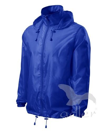 UNISEX VĚTROVKA WINDY barva: královská modrá, Velikost: XL