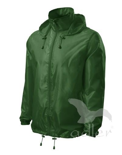 UNISEX VĚTROVKA WINDY barva: lahvově zelená, Velikost: XL