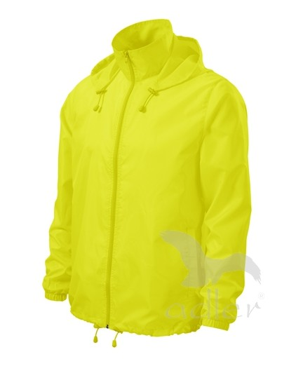 UNISEX VĚTROVKA WINDY barva: neon yellow, Velikost: XL