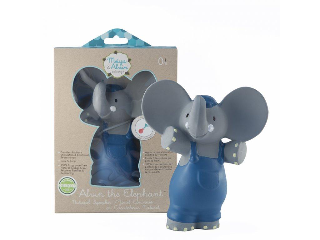 Meiya&Alvin piskatko hryzatko kaucuk slon obal