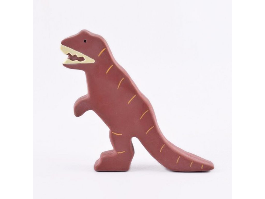 Tikiri Baby Dinosaurus z prirodnej gumy tyranosaurus rex2