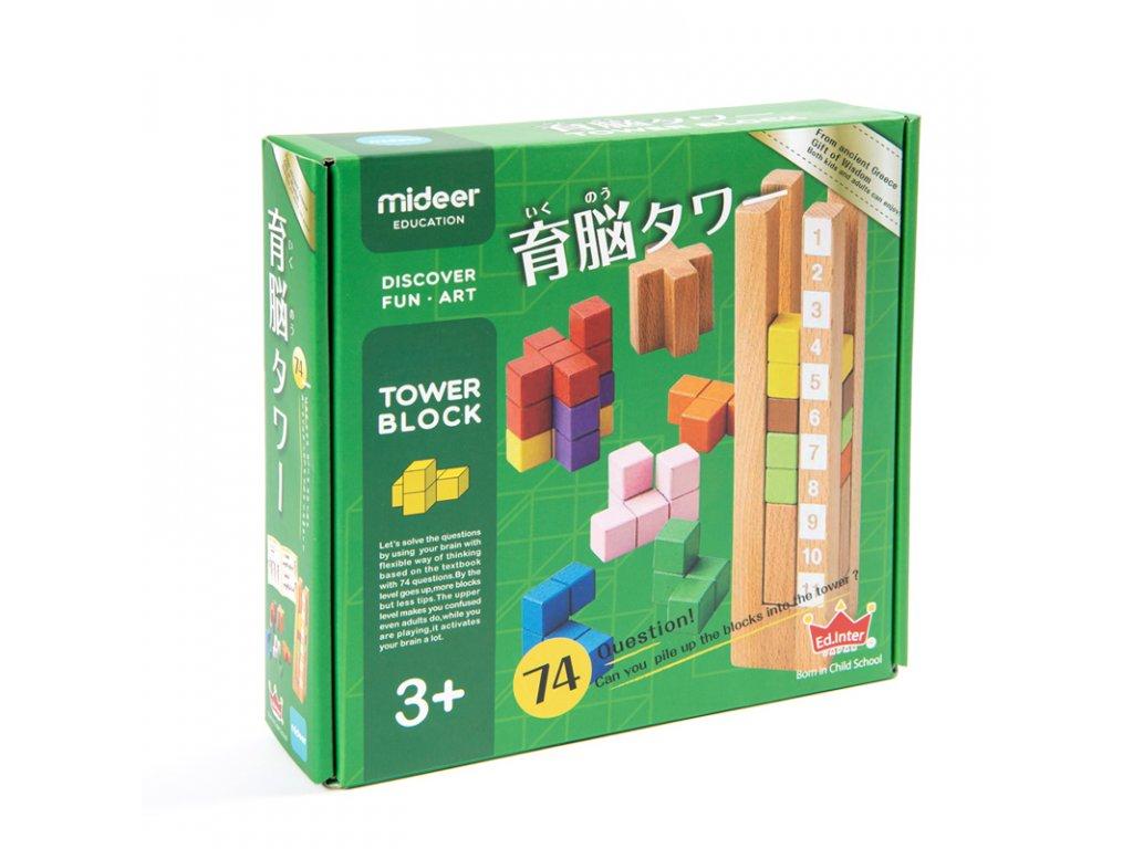 848 tower block japonska 3d hra