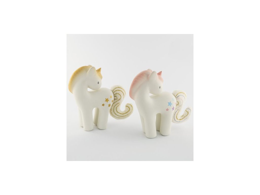 teether rattle unicorn