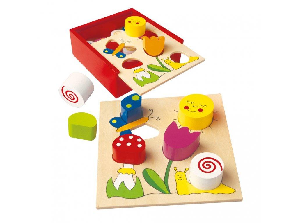 Bino Moje první puzzle Bella Florina 6 ks