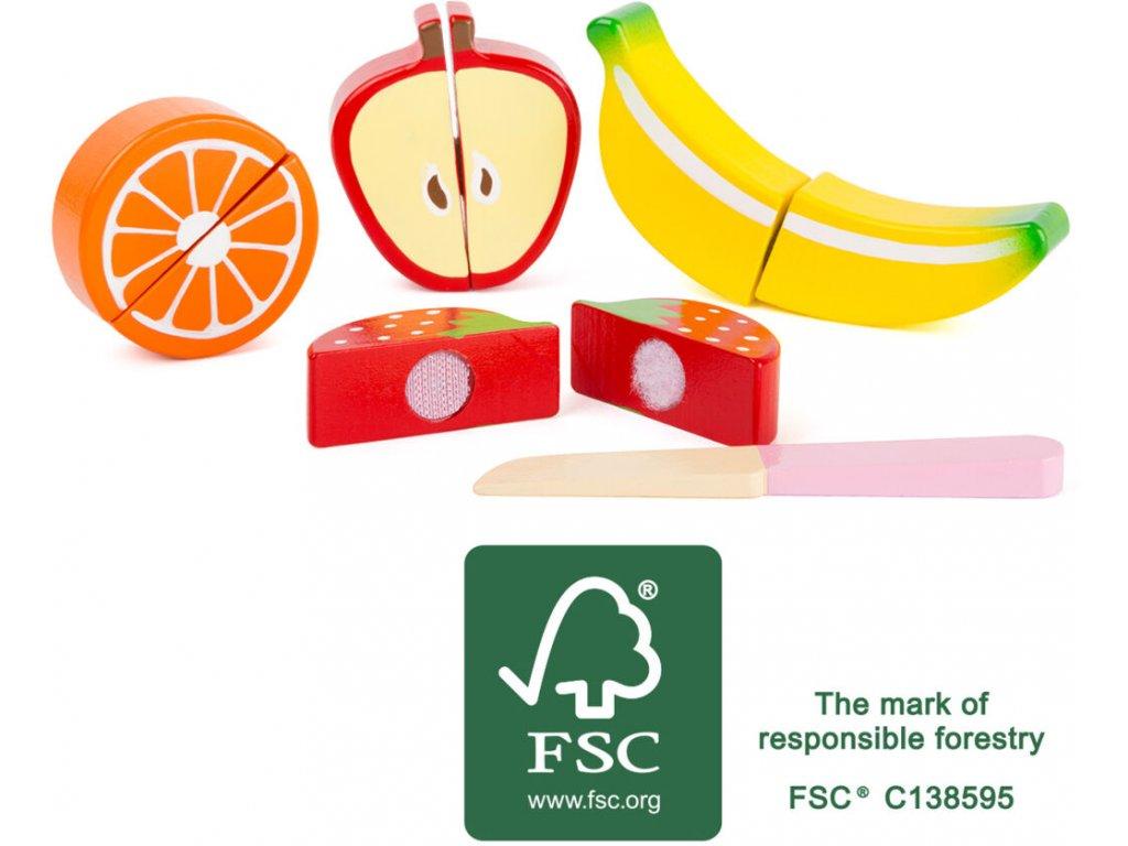 Small Foot Dřevěný set ovoce