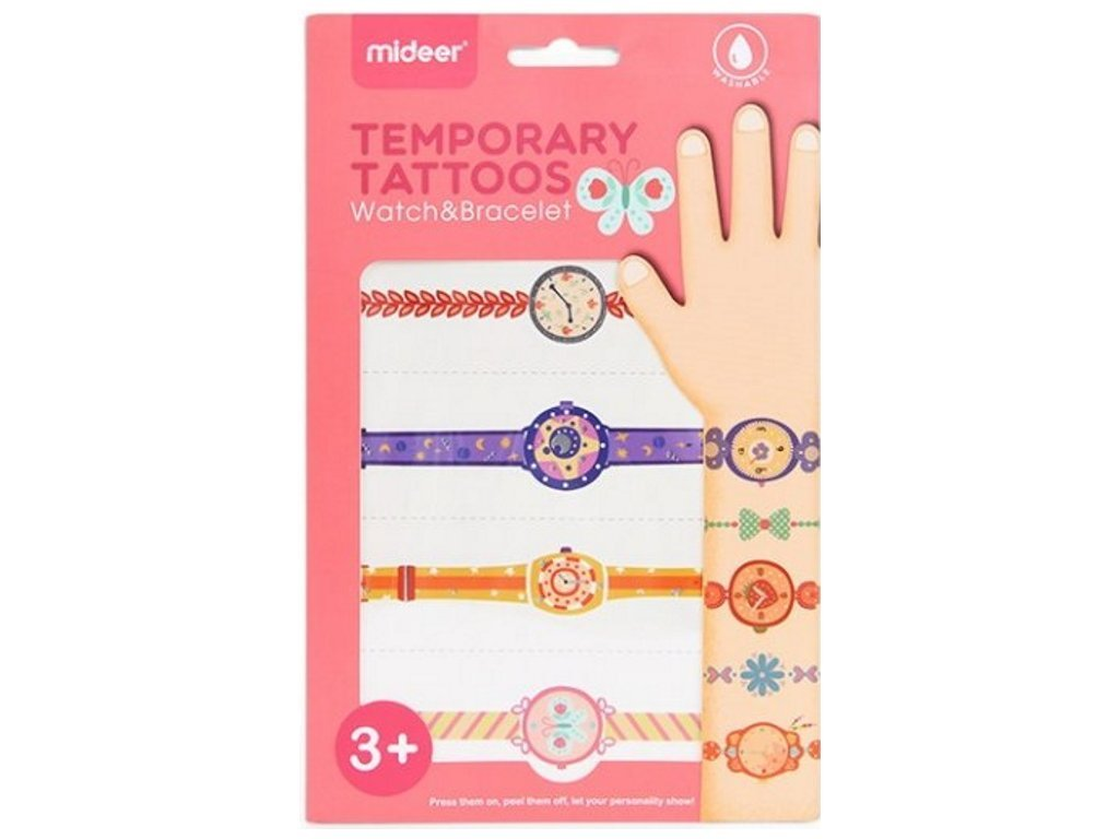 Tetování - Hodinky a náramky - holka