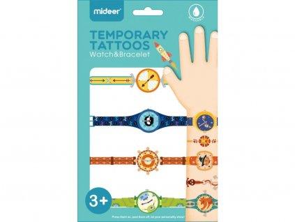 Tetování - Hodinky a náramky - kluk