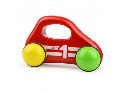 Vilac Červené autíčko pro batolata