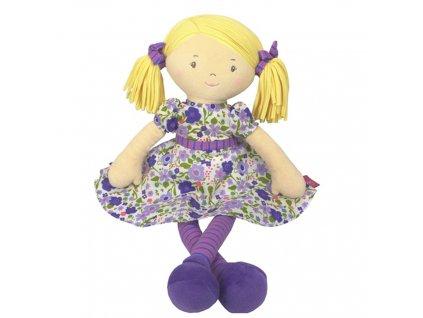 vyr 2373Latkova babika 40cm Peggy fialova