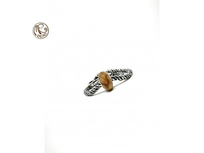 Dřevěný korálek - Kaštan