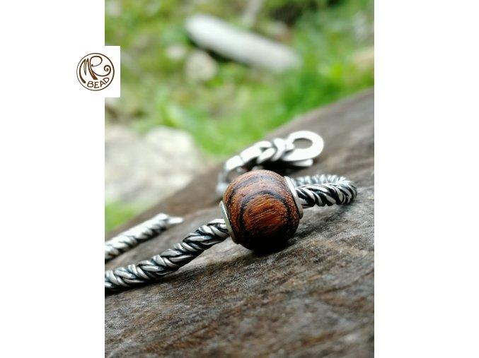 Dřevěný korálek - Bocote