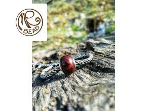 Dřevěný korálek - Snakewood