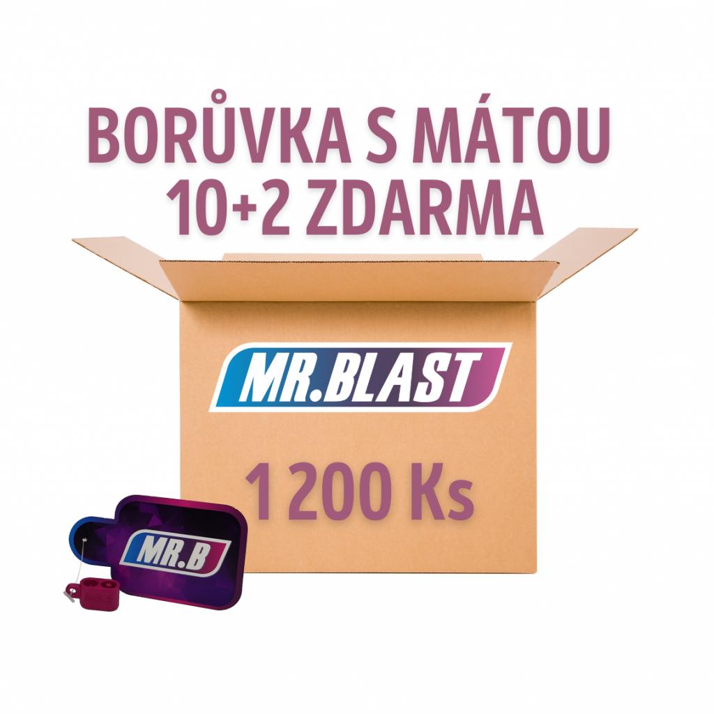 Práskací kuličky - Borůvka s mátou 10 + 2 ZDARMA
